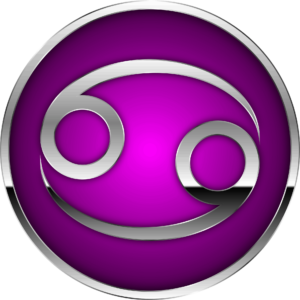 Cancer zodiac symbol artwork