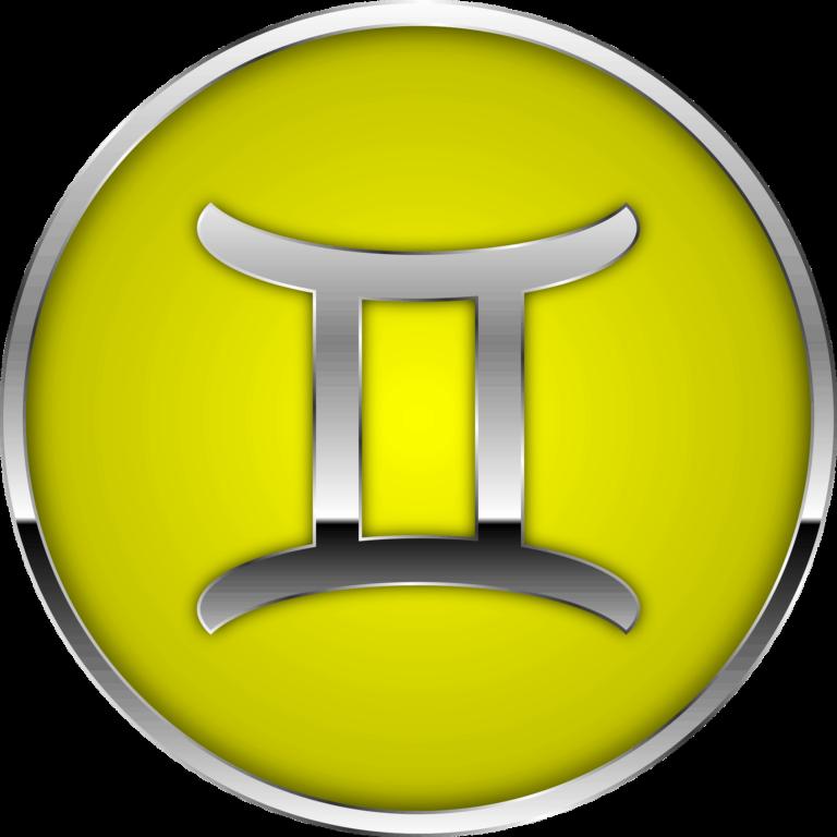Gemini zodiac symbol artwork