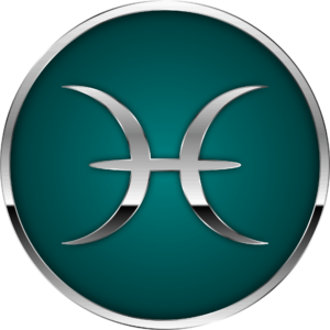 Pisces zodiac symbol artwork
