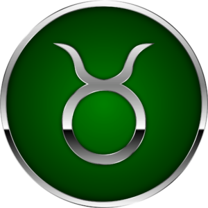 Taurus zodiac symbol artwork