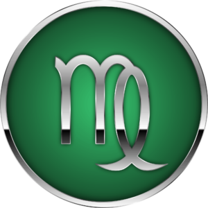 Virgo zodiac symbol artwork