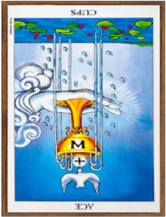 Ace of cups reversed