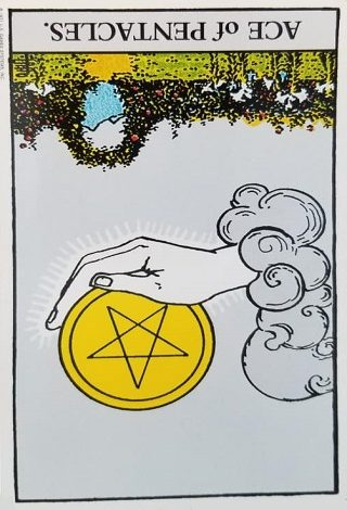 Ace Of Pentacles Reversed | PredictMyFuture