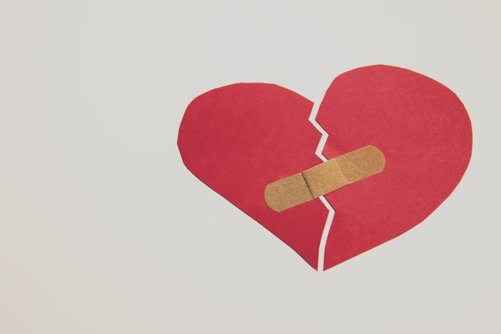 healing after a breakup