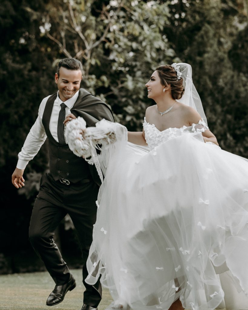 Taurus-Man-and-Libra-Woman: couple after getting married
